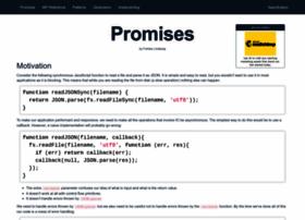 promisejs.org