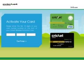 promocardbalance.cricketwireless.com