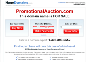 promotionalauction.com