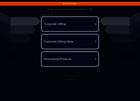 promotionalpersonalisedgifts.co.uk