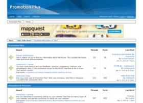 promotionplus.proboards.com