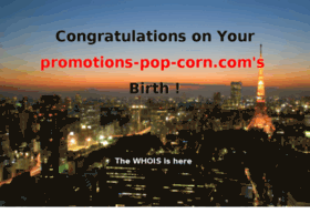 promotions-pop-corn.com