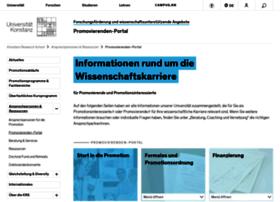 promovierenden-portal.uni-konstanz.de