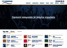 promusicae.org