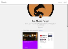 promusicforum.com