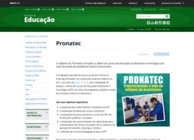 pronatec.mec.gov.br