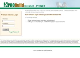 pronet.probuild.com