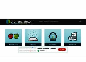 pronuncian.com