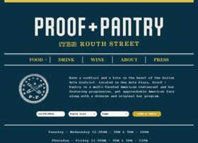 proofandpantry.com