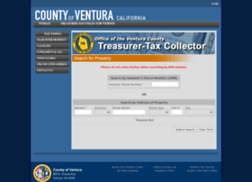 Prop-tax.countyofventura.org