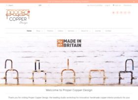 propercopperdesign.com