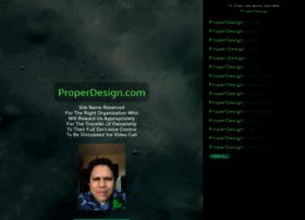 properdesign.com
