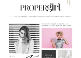 propergirl.com