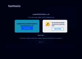 propertiesforlondon.co.uk