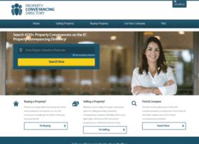propertyconveyancingdirectory.com.au
