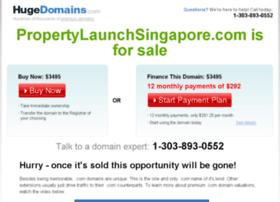 propertylaunchsingapore.com