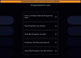 propertytaxlist.com