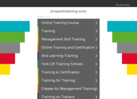 propextraining.com