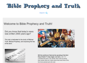 prophecyandtruth.com