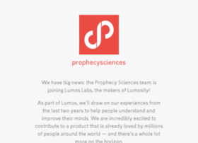 prophecysciences.com