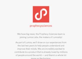 prophecysciences.com