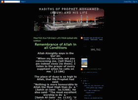 prophet-hadiths.blogspot.com