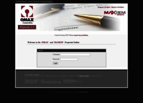proposals.omax.com