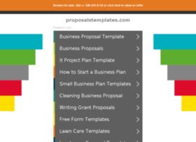proposalstemplates.com