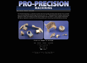 Proprecisionmachining.com