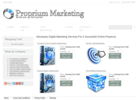 propriummarketing.com