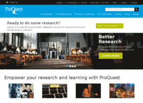 proquest.co.uk