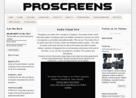 proscreens.org.uk