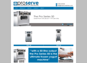 proserve-machines.co.uk