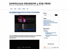 proshow5free.blogspot.com