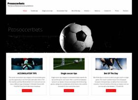 prosoccerbets.com