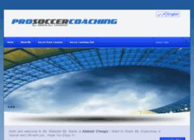 prosoccercoachingclub.com