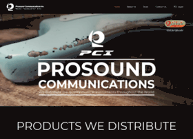 prosoundcommunications.com