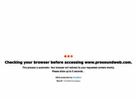 prosoundweb.com