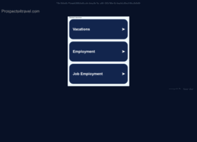 prospects4travel.com