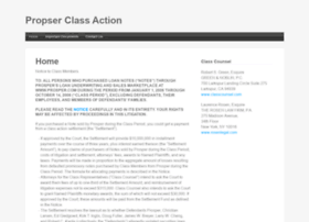 prosperclassaction.com