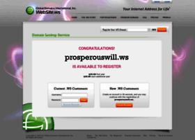 prosperouswill.ws