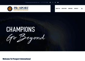 prosportinternational.com