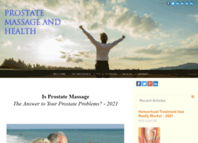 prostate-massage-and-health.com