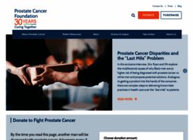 prostatecancerfoundation.org