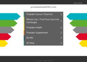 prostatehealth60.com