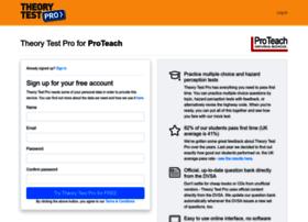 proteach.theorytestpro.co.uk