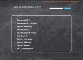 proteamspeak.com
