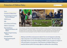 protectionofchildren.nd.edu