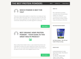 proteinpowdershakes.org