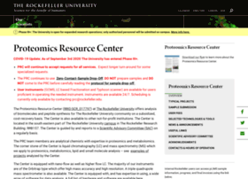 proteomics.rockefeller.edu